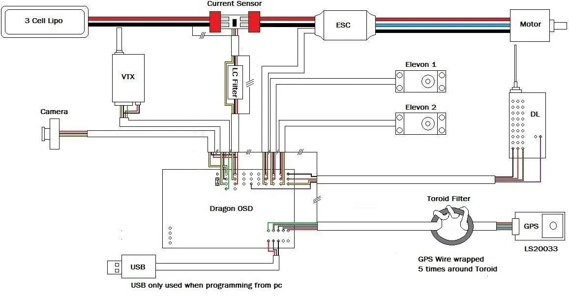Drone Camera 4 Wire Wiring Diagram : 34 Wiring Diagram