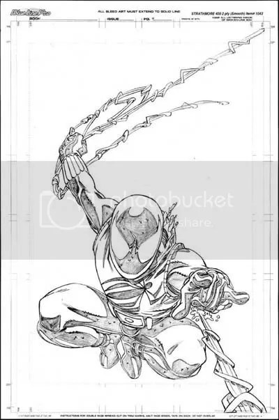 Scarlet Spider by Mike Wieringo
