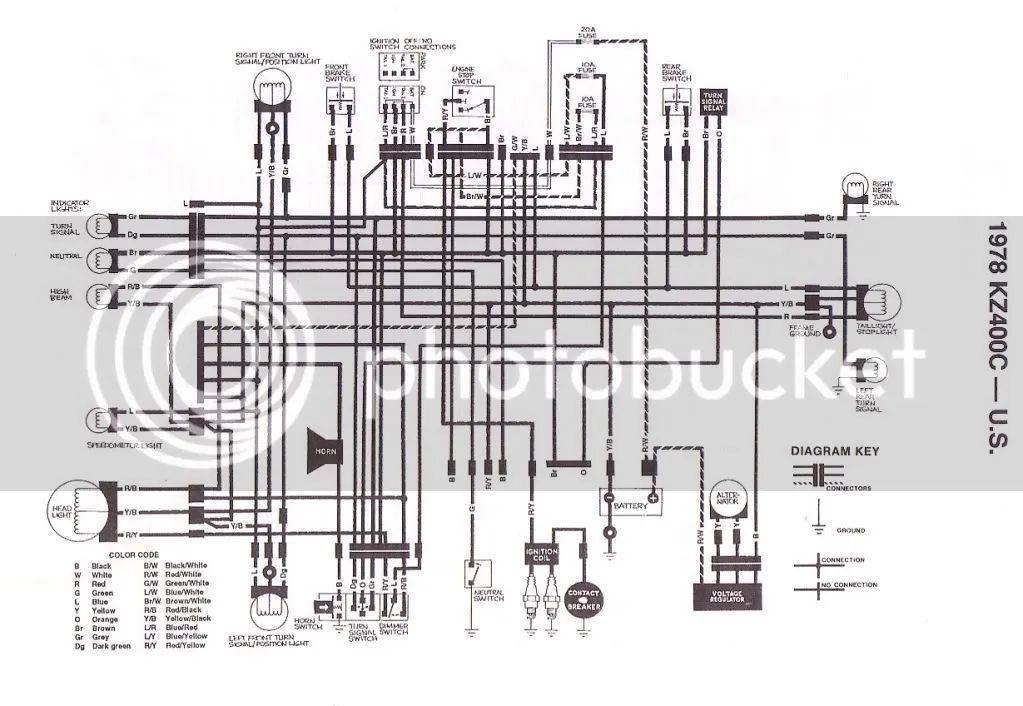kz400 simple wiring diagram