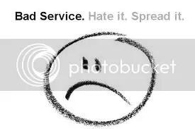 Bad Service