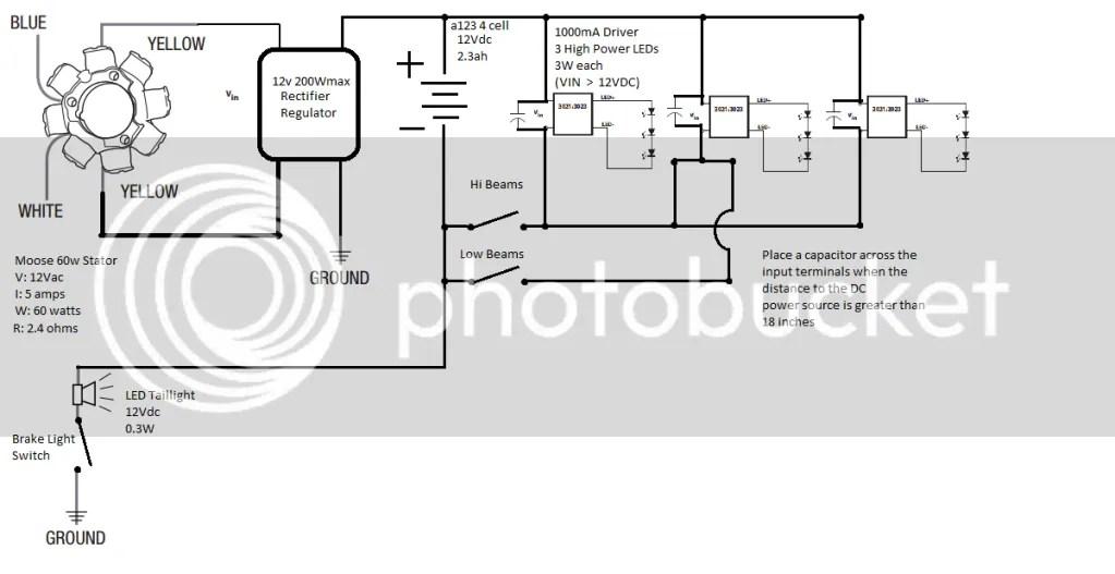 Lightweight LED Light Setup (cr500af)