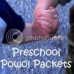 Preschool Powol Packets