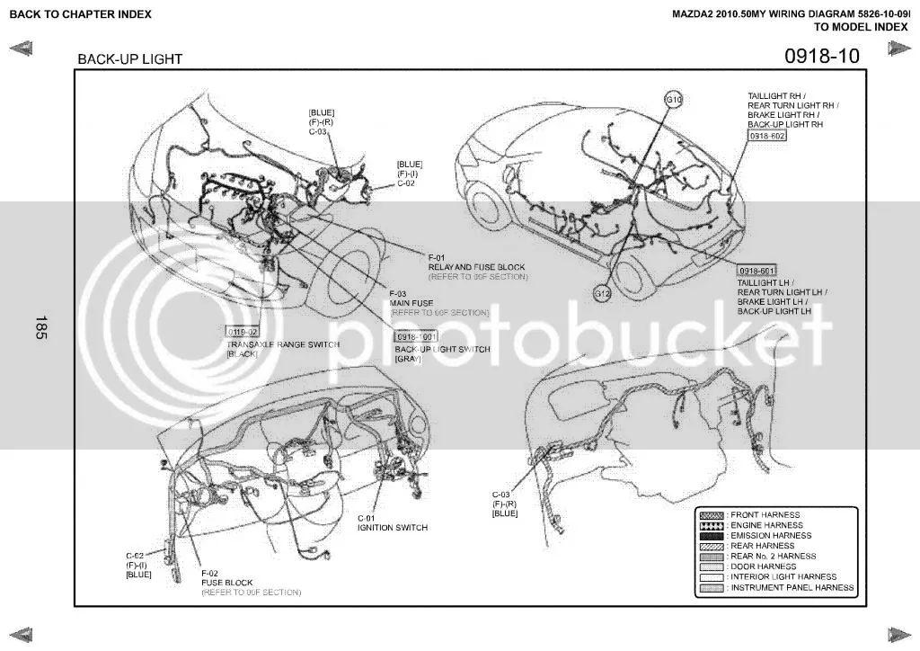 wiring diagram mazda 2 espaol 2013