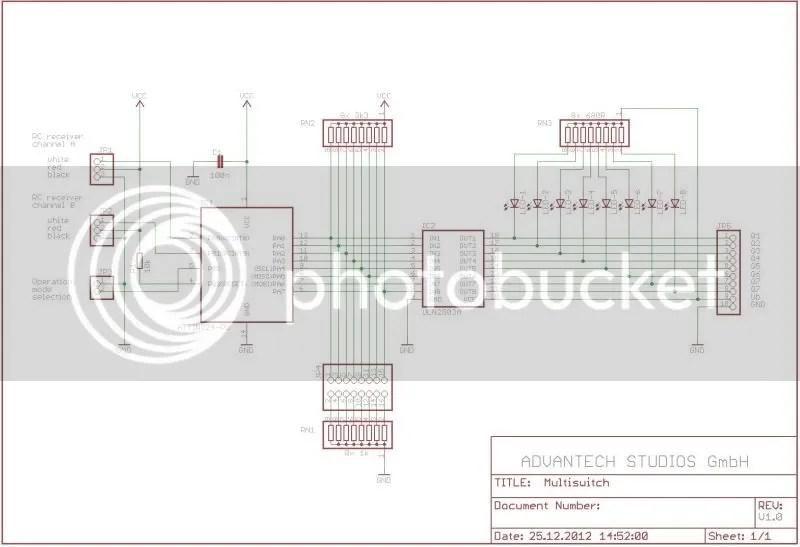Elektronik: 8-fach Multiswitch / Doppel-4-fach Multiswitch