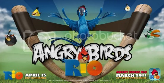 Angrybirds Rio
