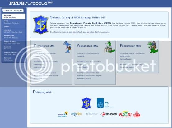PSB Online Surabaya, PPDB Surabaya 2011, PPDB 2011, PSB Online, PSB Surabaya, PPDB Surabaya