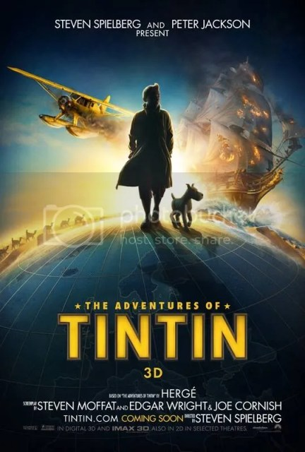Tintin, Secret of the Unicorn, 3D, Milo, Secret of the Unicorn 3D Movies, Tintin Movies