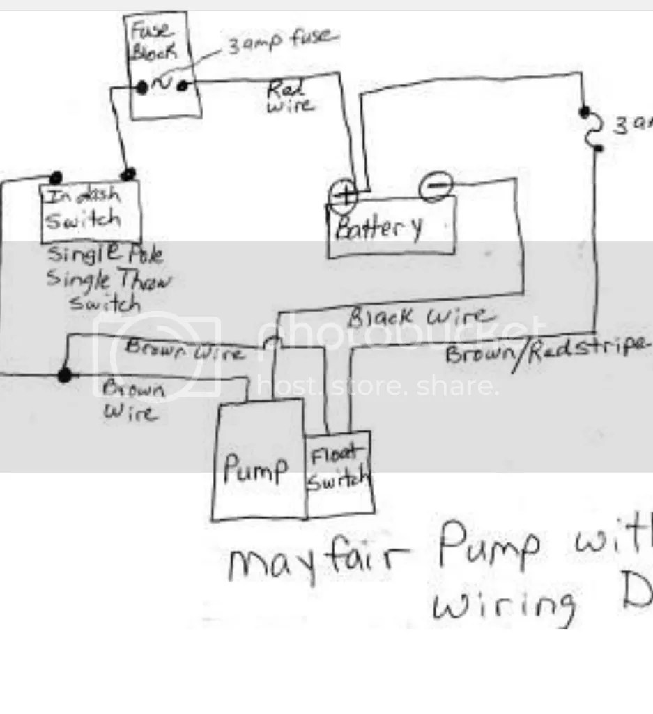 medium resolution of am having trouble wiring a johnson 3wire electronic float wiring3 wire bilge pump wiring diagram
