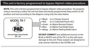 PAC Universal VideoUnlock Bypass & Trigger Adapter for