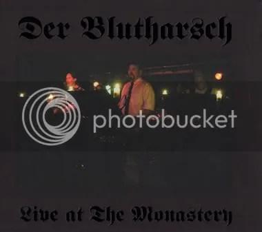DER BLUTHARSCH - Live At The Monastery CD