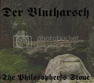 DER BLUTHARSCH - The Philosopher's Stone CD