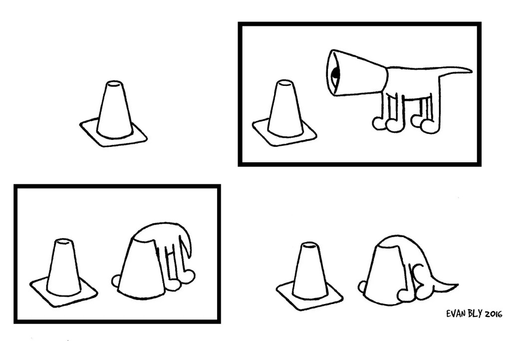 """Safety"", the second strip in a short series starring Cone."