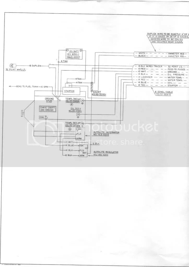 Chris Craft Commander Forum: 1968 Corsair wiring diagram