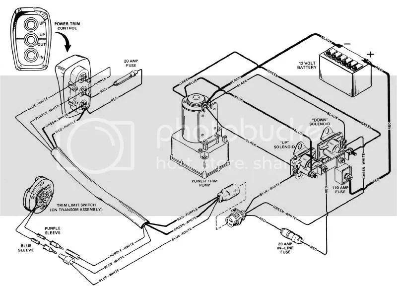 I O Mercruiser Wiring Diagram