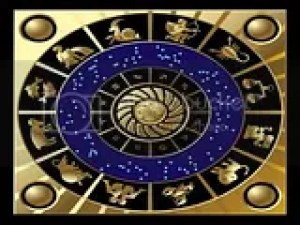 zodiac plate of gold