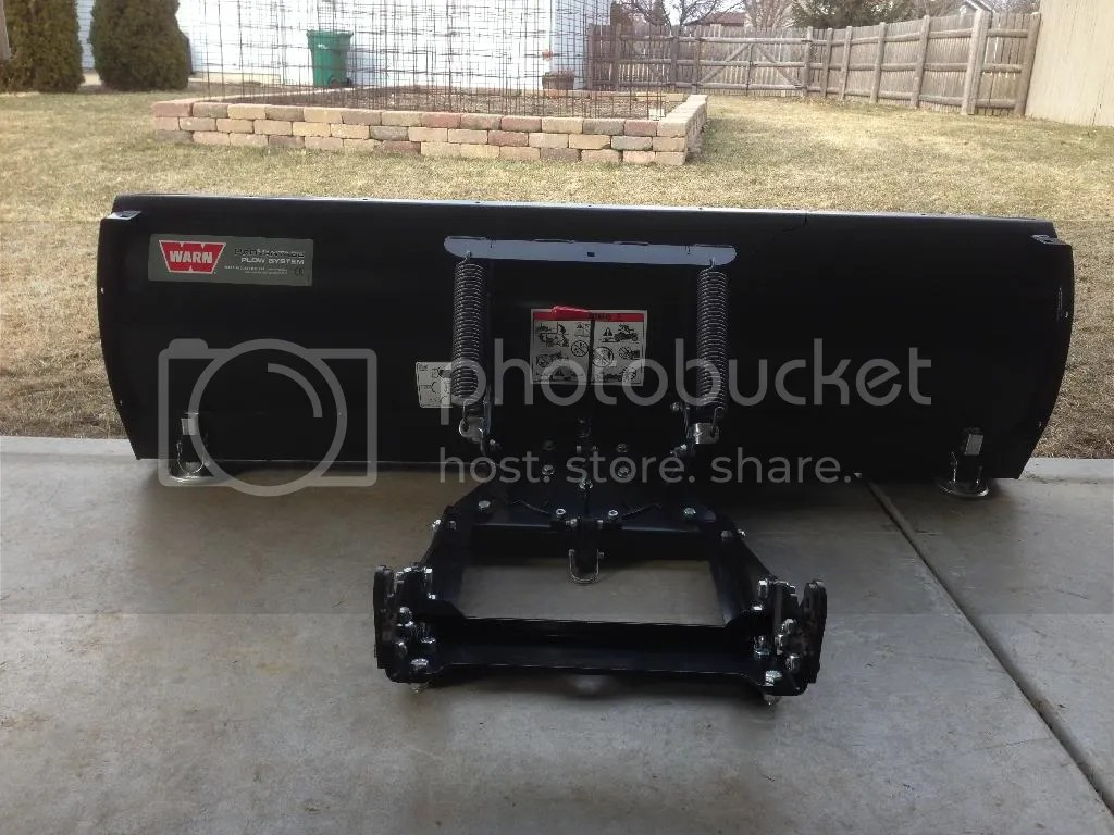 WARN Provantage Front Mount 60 Plow  Yamaha Grizzly ATV
