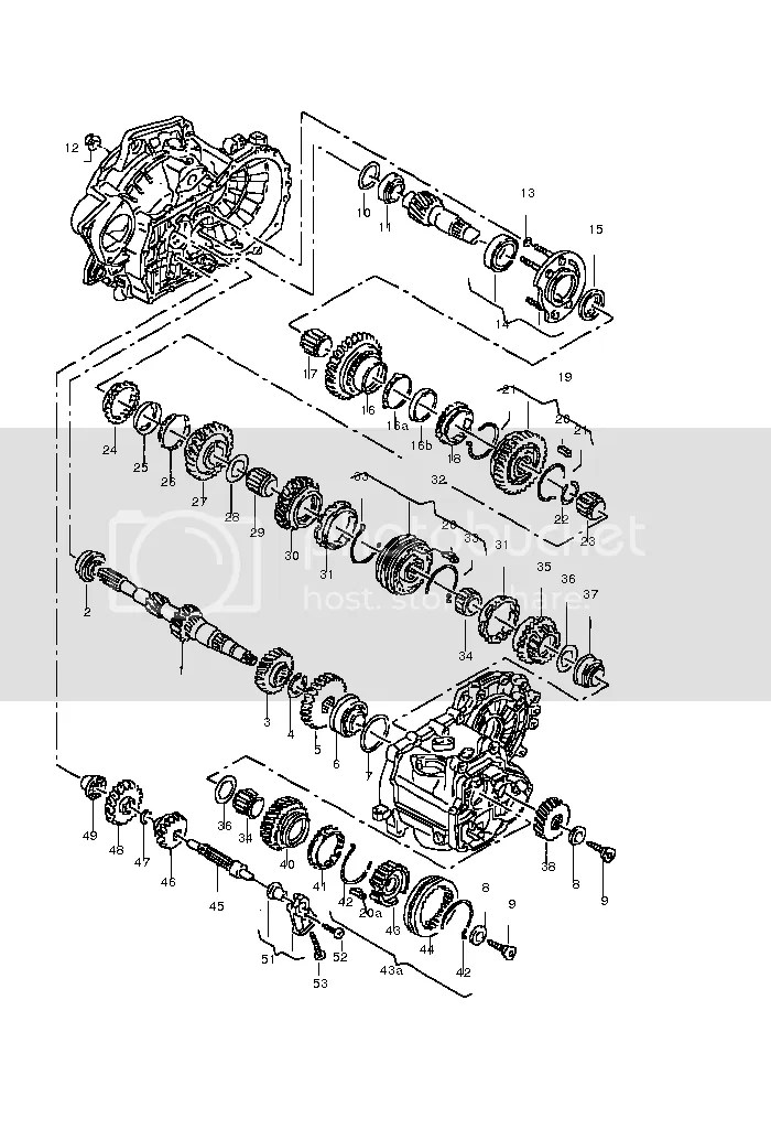 Combining 02A and 02B gearboxes!