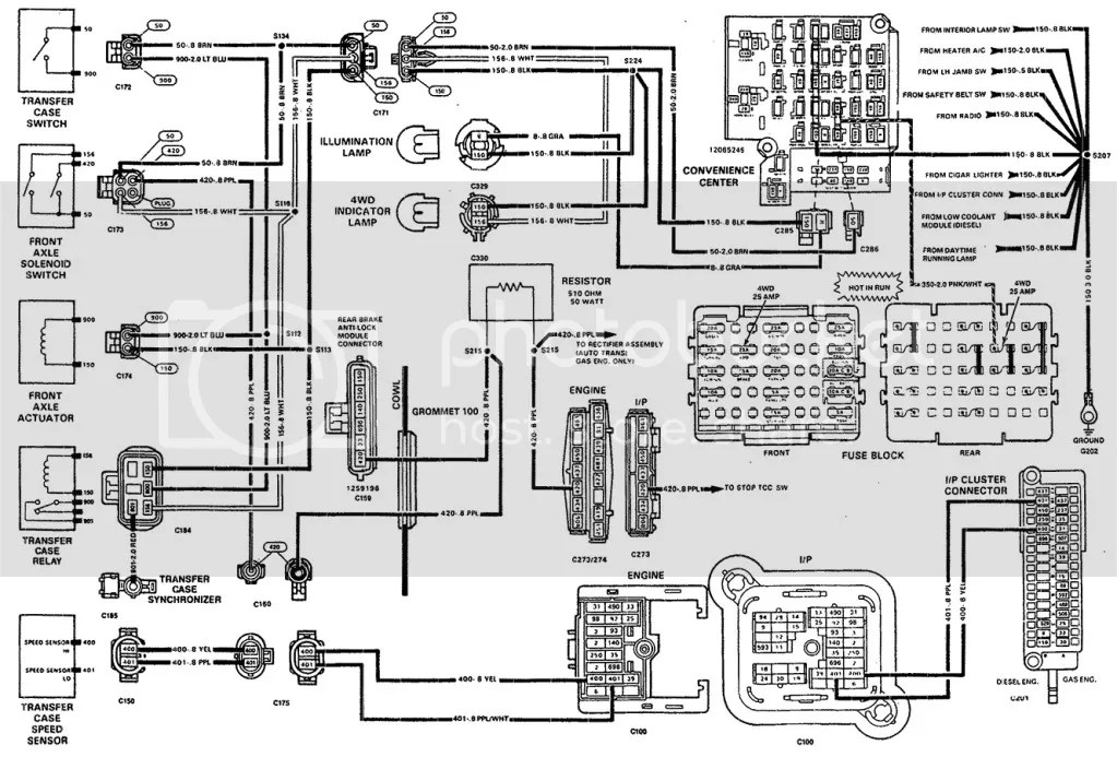 Chevy 454 Fuse Box Diagram, Chevy, Get Free Image About