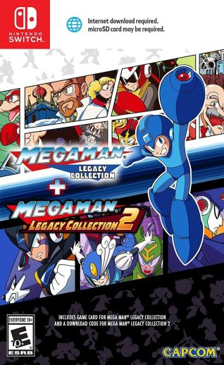 Mega Man Legacy Collection 1-2 Switch NSP