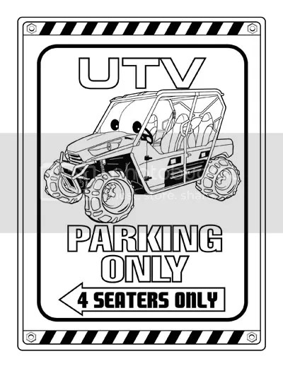 UTV Off Road Coloring and Activity book for kids