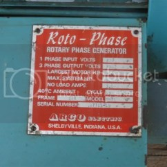 Arco Phase Converter Wiring Diagram Nissan Altima Radio Rotary Schematic Roto All Data Generator
