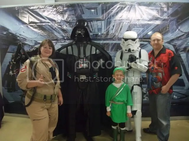 Us with Vader