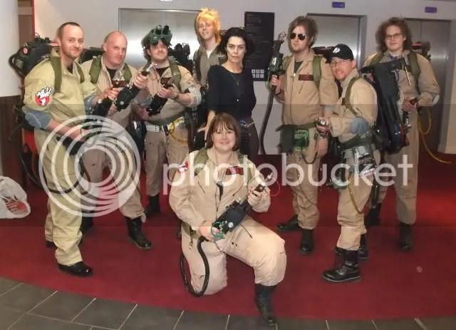 UK Ghostbusters & Slavitza Jovan (Gozer)