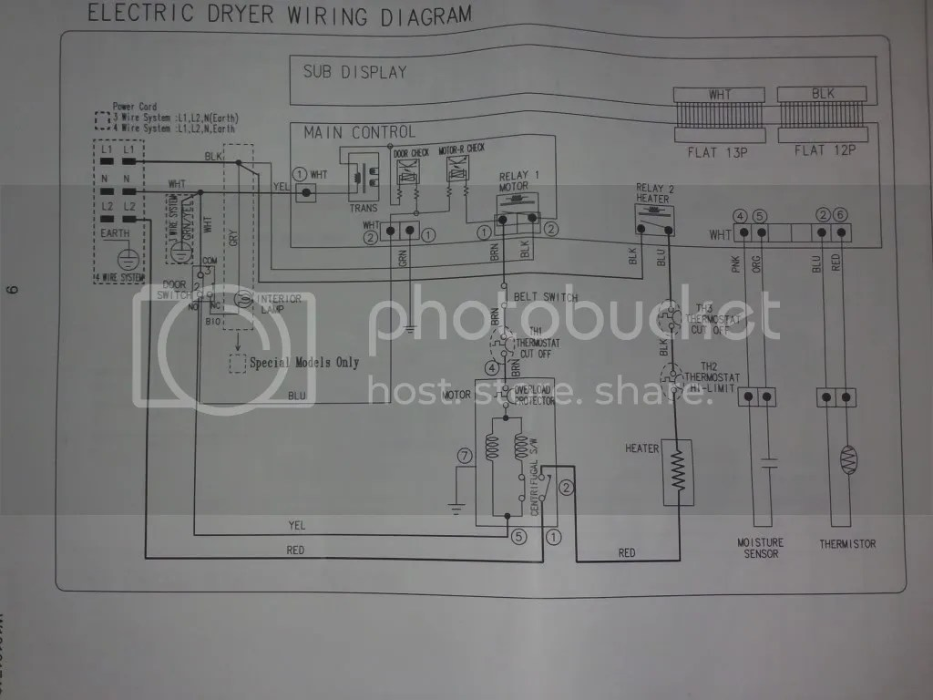 hight resolution of from amana ned7200tw dryer no heat problem with cycling thermostat rh appliantology org amana dryer ned7200tw amana dryer wiring diagram starting