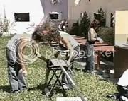 Los participantes trabajando