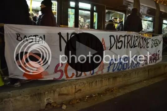 Presidio a Roma contro i tagli al sostegno delle disabilità nella scuola pubblica