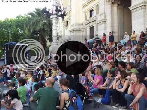 Roma 24 maggio 2012, presidio al ministero dell'istruzione