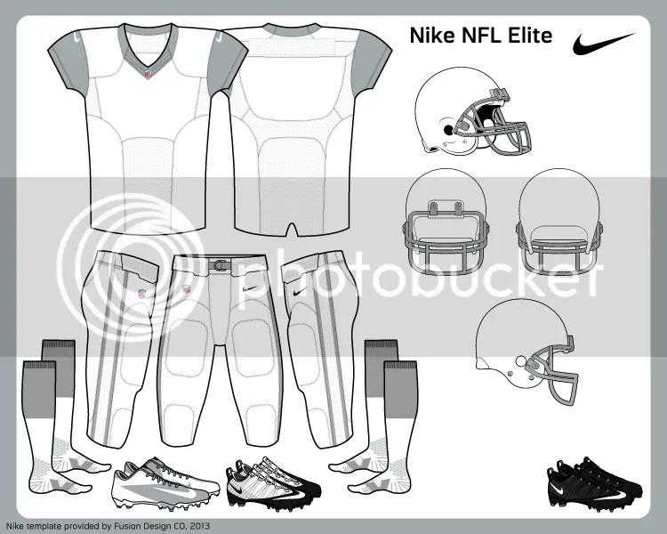 Fusion Template Series: NFL Nike Elite Version 1