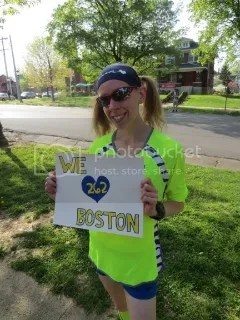 Before the Run For Boston - Louisville, Kentucky