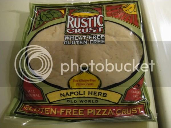 Rustic Crust Gluten-Free Napoli Herb pizza crust is a ...