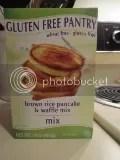 Glutino's Gluten Free Pantry Brown Rice Pancake & Waffle Mix