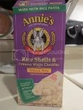Annie's Homegrown Gluten-Free Rice Shells and Creamy White Cheddar