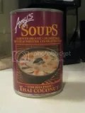 Amy's Organic Thai Coconut Soup (Tom Kha Phak)
