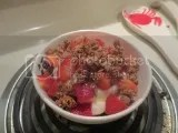 Fresh Strawberry and Greek Yogurt Breakfast Parfait with Purely Elizabeth Original Ancient Grain Granola Cereal