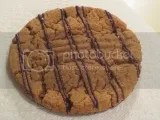 Liz Lovely's Gluten-Free and Vegan Peanut Butter with Dark Chocolate Cookie