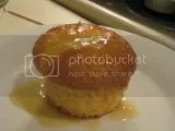 Gluten-Free Lemon Cupcake with an Orange Citrus Glaze (made from Heartland Gourmet Gluten-Free Lemon Cupcake Mix)