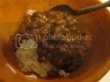 Tasty Bite Bengal Lentils over jasmine rice