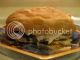 Portobello Mushroom Cheesesteak Sandwich made using Tina's Sweet Treats Gluten-Free Sub Buns