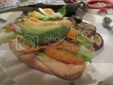 Gluten-Free Vegan Shrimp Po Boy made with Sohpie's Kitchen Gluten-Free Breaded Vegan Shrimp