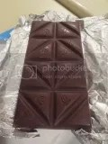 Dark Chocolate Dream Pure Dark Dark Chocolate Bar (unwrapped)