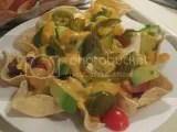 Nachos made with Glutino's Gluten-Free Tortilla Dippers