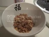 A serving of Udi's Gluten-Free Sweet and Crunchy Vanilla Granola