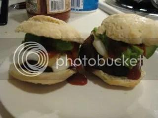 Gluten-Free BBQ Mushroom Sliders