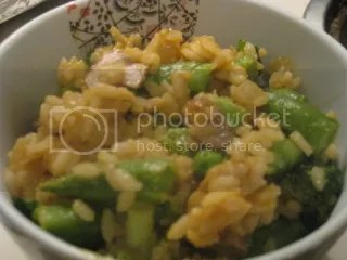 Snap Pea and Veggie Risotto