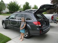 New roof rack on 2013 Subaru Outback