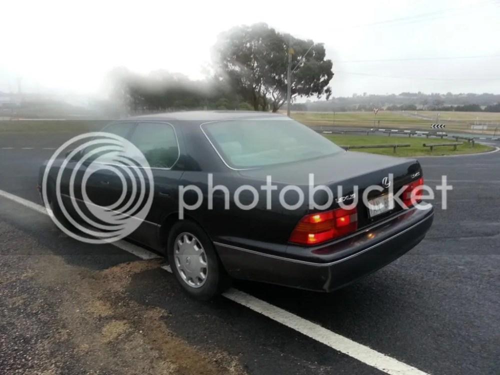 medium resolution of 1995 lexu ls400 oil leak